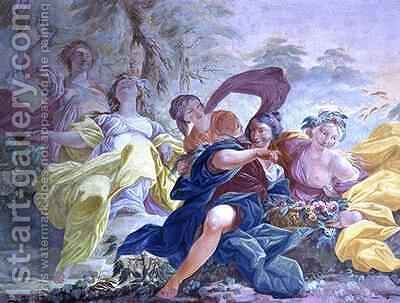 Mythological scene 2 by Diacinto Fabbroni - Reproduction Oil Painting