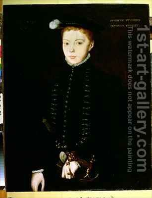 Henry Stewart Lord Darnley by Hans Eworth - Reproduction Oil Painting
