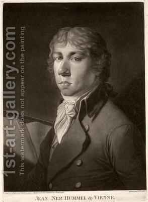 Johann Nepomuk Hummel 1778-1837 by Catharina Escherich - Reproduction Oil Painting