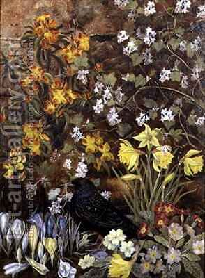 Spring Flowers by Mary Ensor - Reproduction Oil Painting