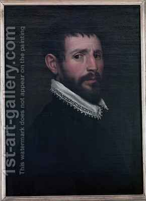 Self Portrait by (Jacopo Chimenti) Empoli - Reproduction Oil Painting