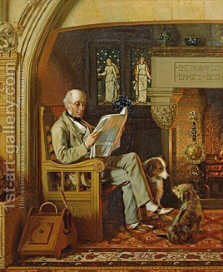 1st Lord Armstrong of Cragside by Henry Hetherington Emmerson - Reproduction Oil Painting