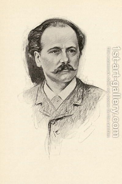 Jules Frederic Massenet 1842-1912 by Chase Emerson - Reproduction Oil Painting