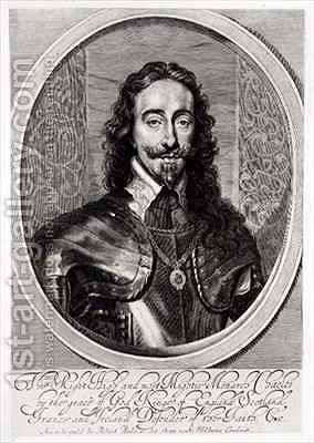 Portrait of Charles I 1600-49 by (after) Dyck, Sir Anthony van - Reproduction Oil Painting