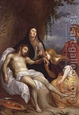 The Lamentation by (after) Dyck, Sir Anthony van - Reproduction Oil Painting