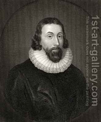 John Winthrop by (after) Dyck, Sir Anthony van - Reproduction Oil Painting