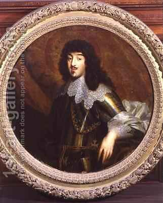 Gaston Jean Baptiste de France 1608-60 Duke of Orleans by (after) Dyck, Sir Anthony van - Reproduction Oil Painting