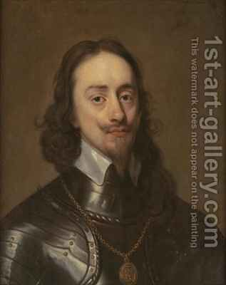 Portrait of Charles I by (after) Dyck, Sir Anthony van - Reproduction Oil Painting