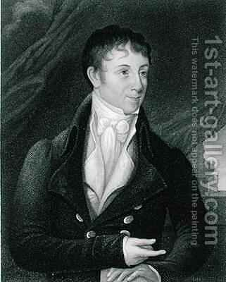 Charles Brockden Brown 1771-1810 2 by (after) Dunlap, William - Reproduction Oil Painting