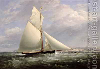 Off Ramsgate by Edward Duncan - Reproduction Oil Painting