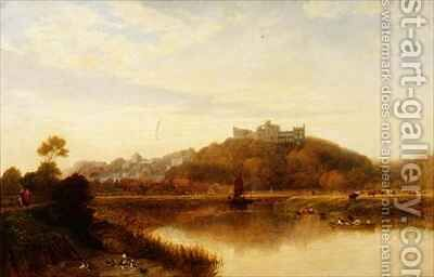 Arundel Castle by Edward Duncan - Reproduction Oil Painting