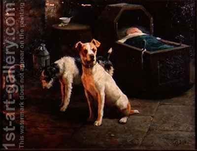 Keeping Watch by Alfred Duke - Reproduction Oil Painting