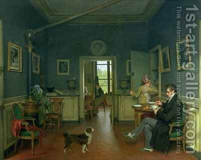 Interior of a Dining Room by Martin Drolling - Reproduction Oil Painting