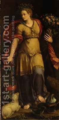 Peace by Battista Dossi - Reproduction Oil Painting