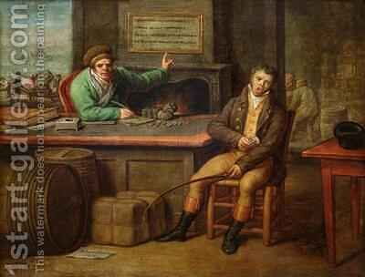 Idleness by Dominique (Guillaume Dominique Jacques) Doncre - Reproduction Oil Painting