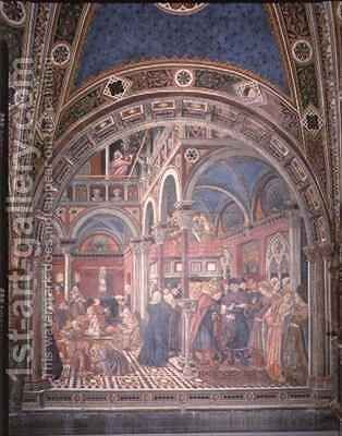 Marriage of the Foundlings by Bartolo Domenico di - Reproduction Oil Painting
