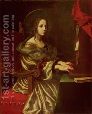 St Cecilia by Carlo Dolci - Reproduction Oil Painting