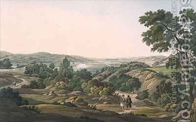 Plain of Olympia by (after) Dodwell, Edward - Reproduction Oil Painting