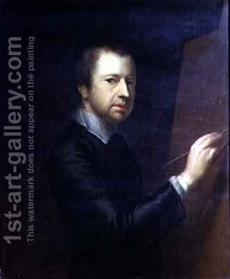 Self Portrait by Arthur Devis - Reproduction Oil Painting