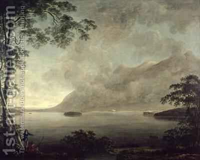 View of Derwentwater by Anthony Devis - Reproduction Oil Painting