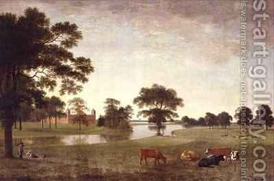 Osterley Park by Anthony Devis - Reproduction Oil Painting