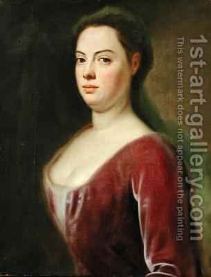 Portrait of Frau Denner by Balthasar Denner - Reproduction Oil Painting