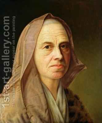 Old Woman by Balthasar Denner - Reproduction Oil Painting