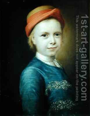 Portrait of a Boy by Balthasar Denner - Reproduction Oil Painting