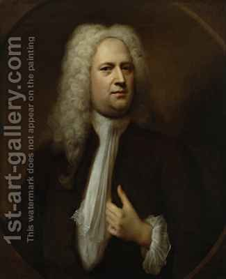 Portrait of George Frideric Handel by Balthasar Denner - Reproduction Oil Painting
