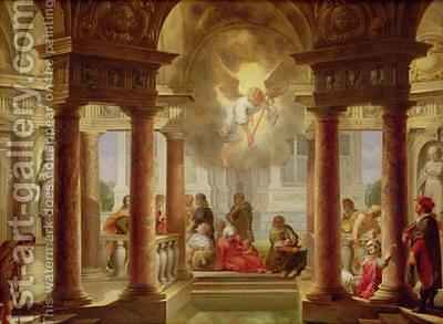 The Pool of Bethesda by Dirck Van Delen - Reproduction Oil Painting