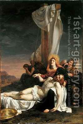 Lamentation by Hippolyte (Paul) Delaroche - Reproduction Oil Painting