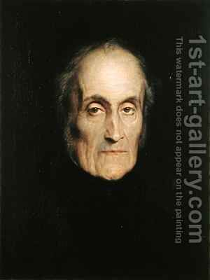 Prince Adam George Czartoryski 1770-1861 by Hippolyte (Paul) Delaroche - Reproduction Oil Painting