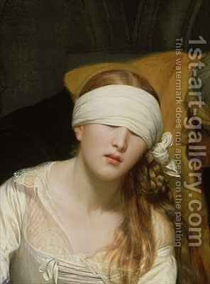 The Execution of Lady Jane Grey 2 by Hippolyte (Paul) Delaroche - Reproduction Oil Painting