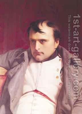Napoleon 1769-1821 after his Abdication 2 by Hippolyte (Paul) Delaroche - Reproduction Oil Painting