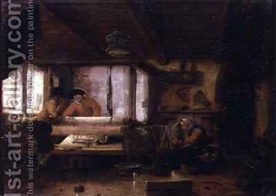 The Weavers by Cornelius Decker - Reproduction Oil Painting