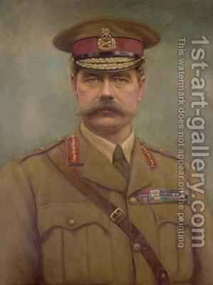 Portrait of Lord Kitchener by Arthur Davis - Reproduction Oil Painting