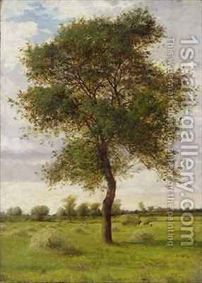Study of an Ash Tree in Summer by James Hey Davies - Reproduction Oil Painting