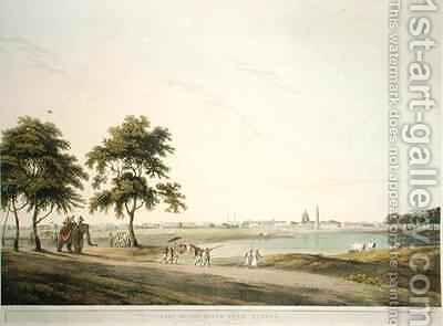 Part of the Black Town Madras by (after) Daniell, Thomas - Reproduction Oil Painting