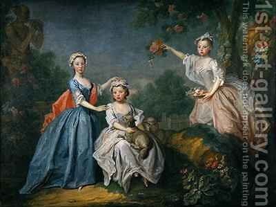 The Ladies Noel by Bartholomew Dandridge - Reproduction Oil Painting