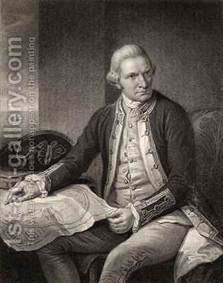 Captain James Cook by (after) Dance, Nathaniel - Reproduction Oil Painting