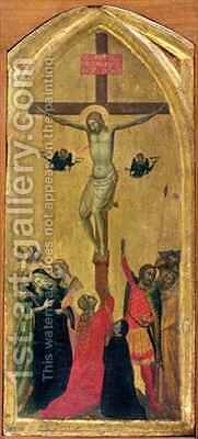 Crucifixion by Bernardo Daddi - Reproduction Oil Painting
