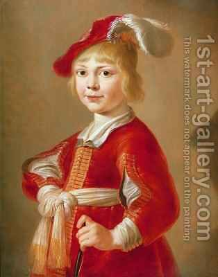 Portrait of a Boy by Jacob Gerritsz. Cuyp - Reproduction Oil Painting