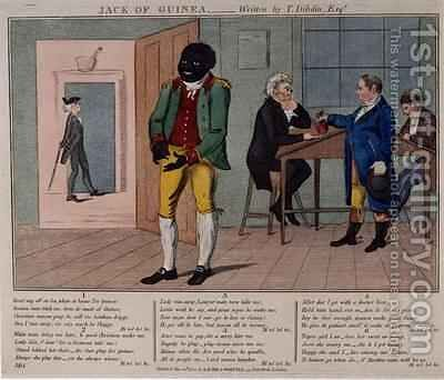 Jack of Guinea by Isaac Cruikshank - Reproduction Oil Painting