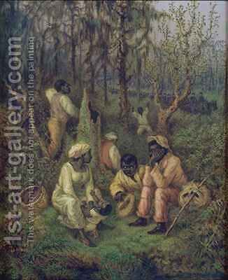Fugitive Slaves in the Dismal Swamp by David Cronin - Reproduction Oil Painting