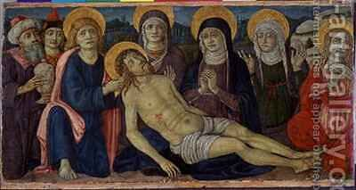 The lamentation of Christ by Guidoccio Cozzarelli - Reproduction Oil Painting