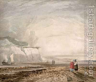 A Seaside View by (after) Cox, David - Reproduction Oil Painting