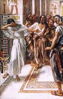 Joseph known to his brethren by Harold Copping - Reproduction Oil Painting