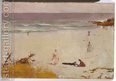 Bronte Beach by Charles Edward Conder - Reproduction Oil Painting