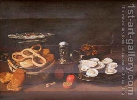 Still Life 2 by Jacob Fopsen van Es - Reproduction Oil Painting