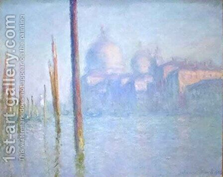 Grand Canal Venice by Claude Oscar Monet - Reproduction Oil Painting